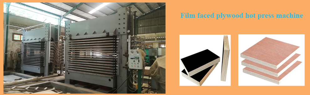 film faced plywood hot press machine