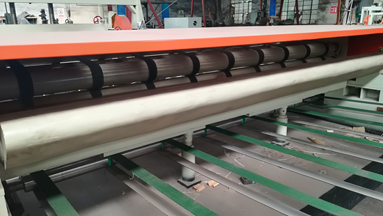 spindle veneer peeling machine line