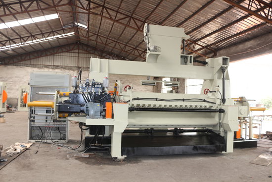 thick veneer peeling machine